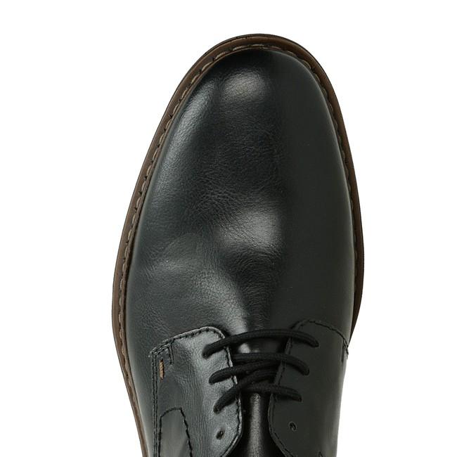 f5f181c37 Rieker pánske spoločenské topánky - čierne | 1761900-BLK www.robel.sk