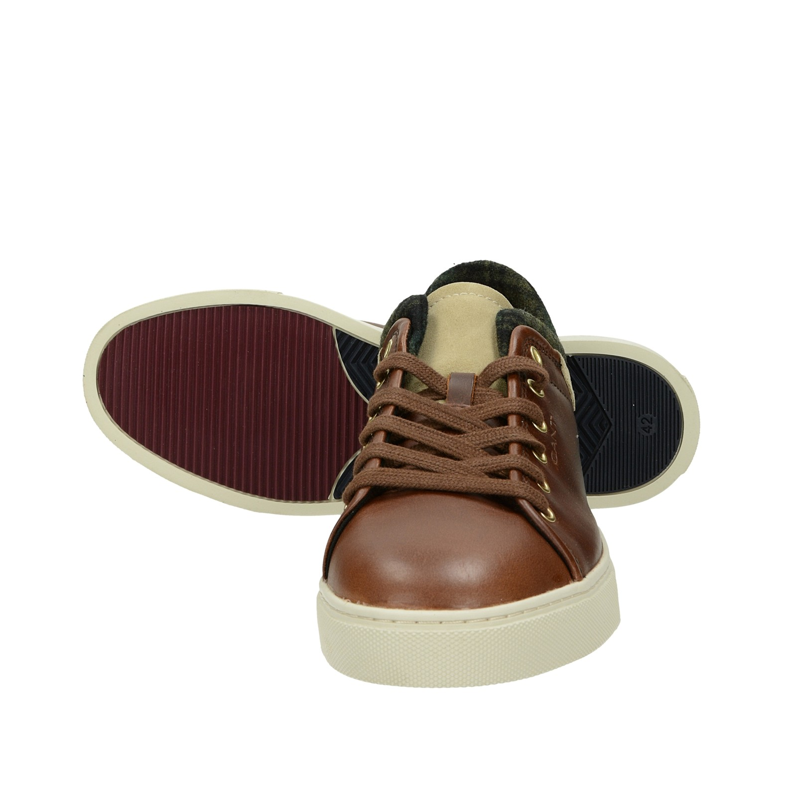 Gant pánske štýlové tenisky - hnedé
