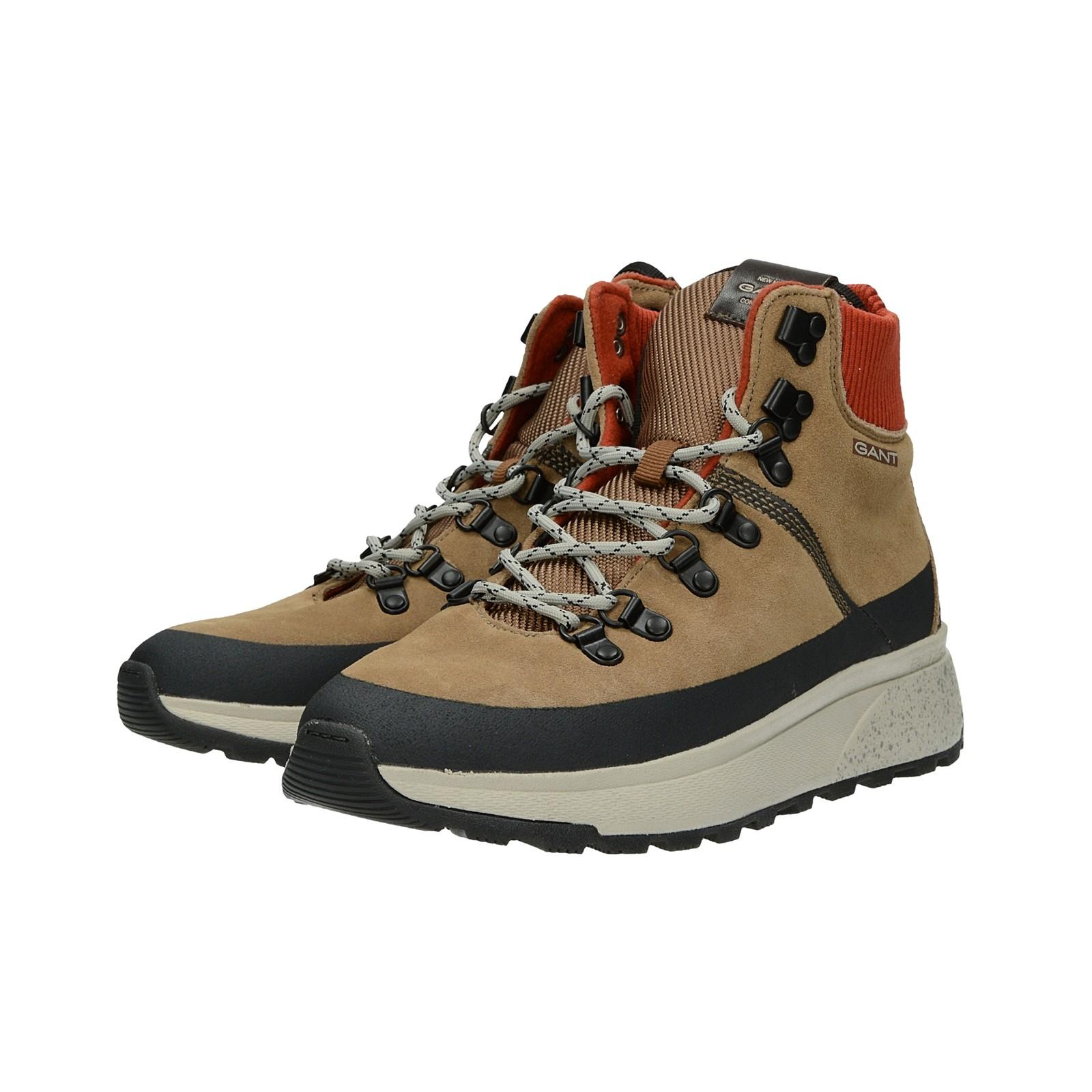 27a6489a1416 ... Gant pánska štýlová členková obuv - béžová ...