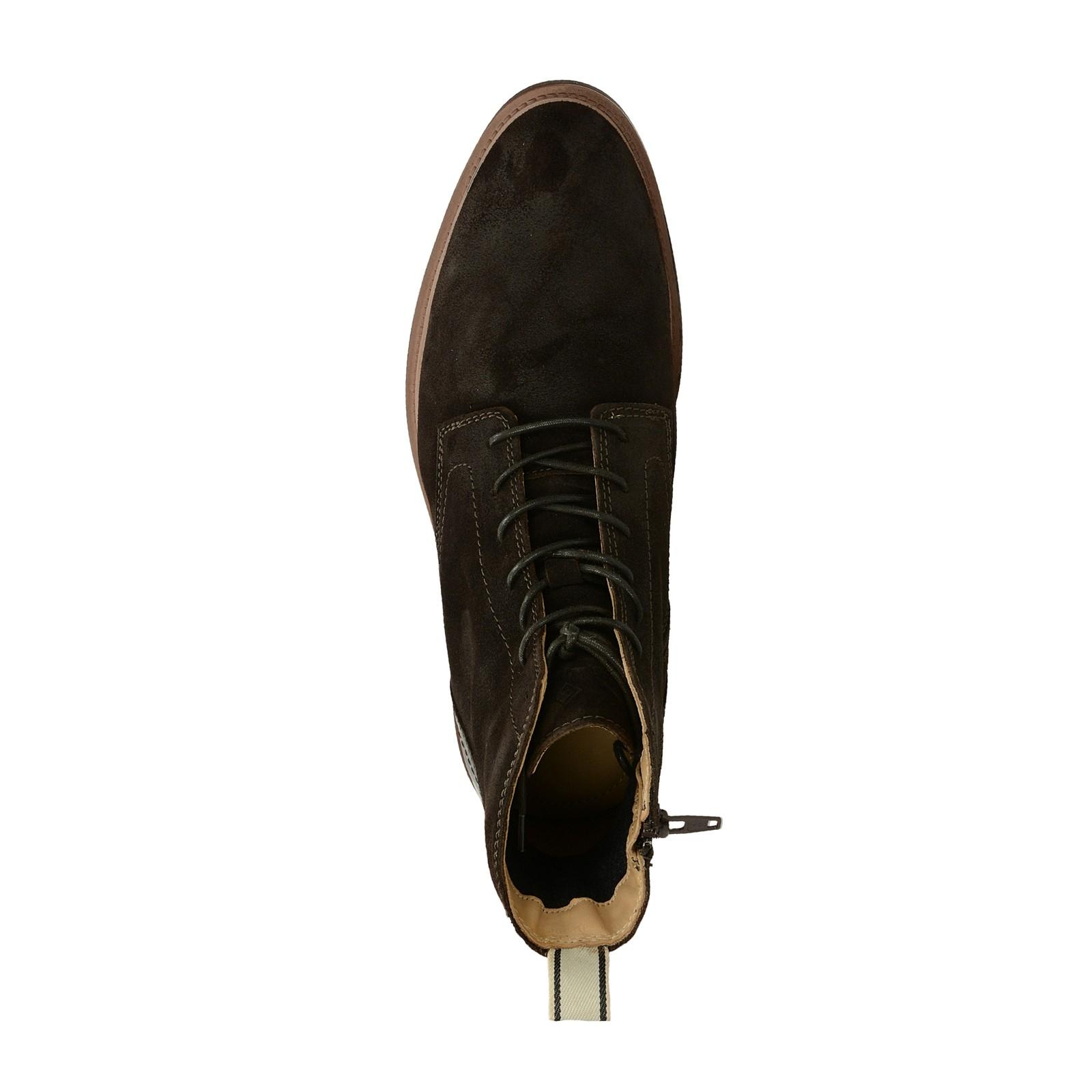 Gant pánska semišová členková obuv - tmavohnedá ... 1221ba489e2