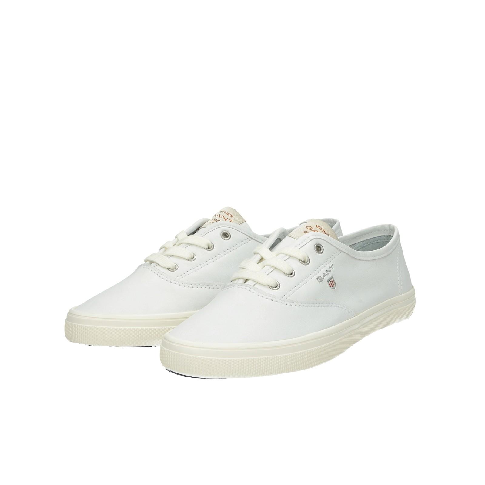 9d6d7372aa3c7 Gant dámske kožené tenisky - biele | 18531398G290-WHT www.robel.sk
