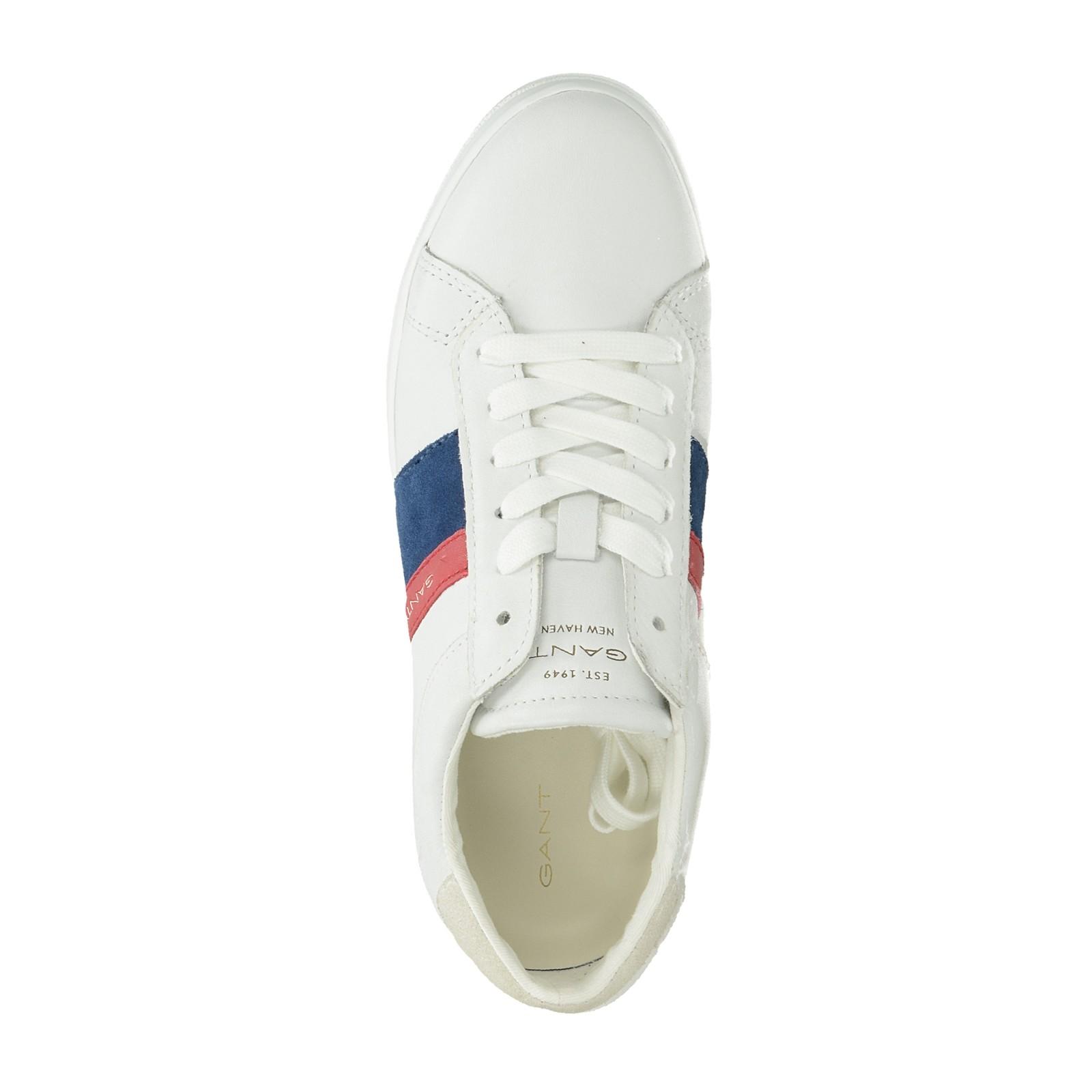 82fed37abf Gant dámske štýlové kožené tenisky - biele ...