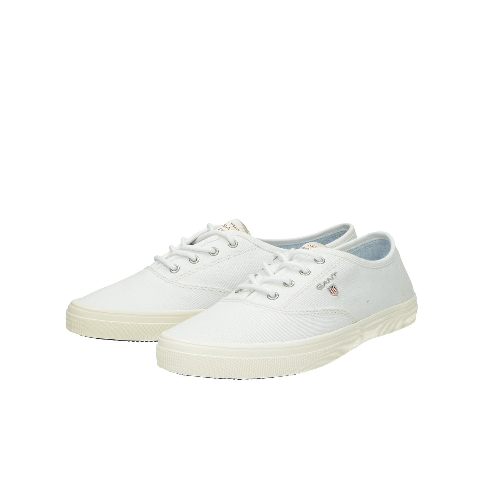 85afc2a85a474 Gant dámske textilné tenisky - biele | 18538396G290-WHT www.robel.sk