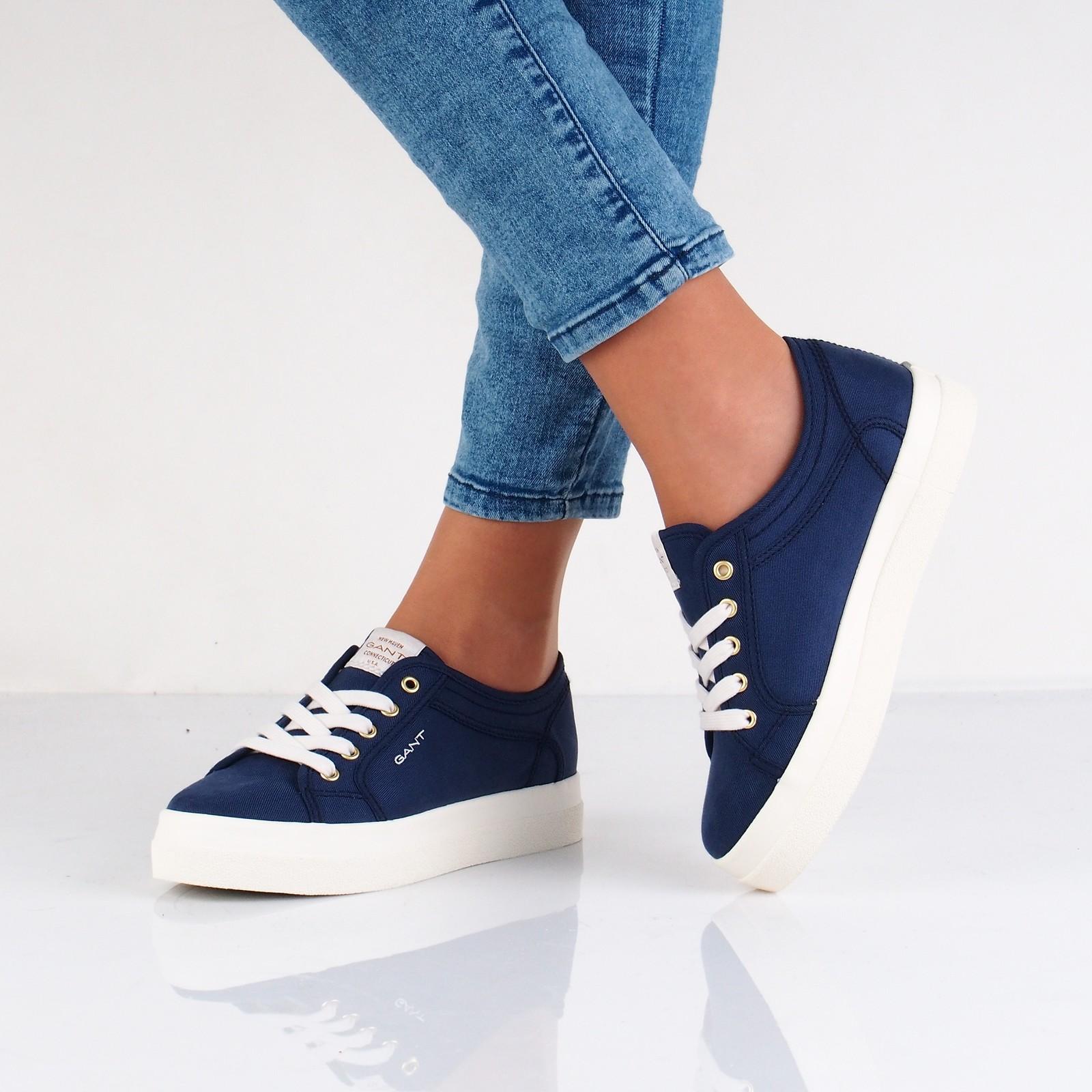 54bb1e9490a3 Gant dámske štýlové textilné tenisky - modré ...
