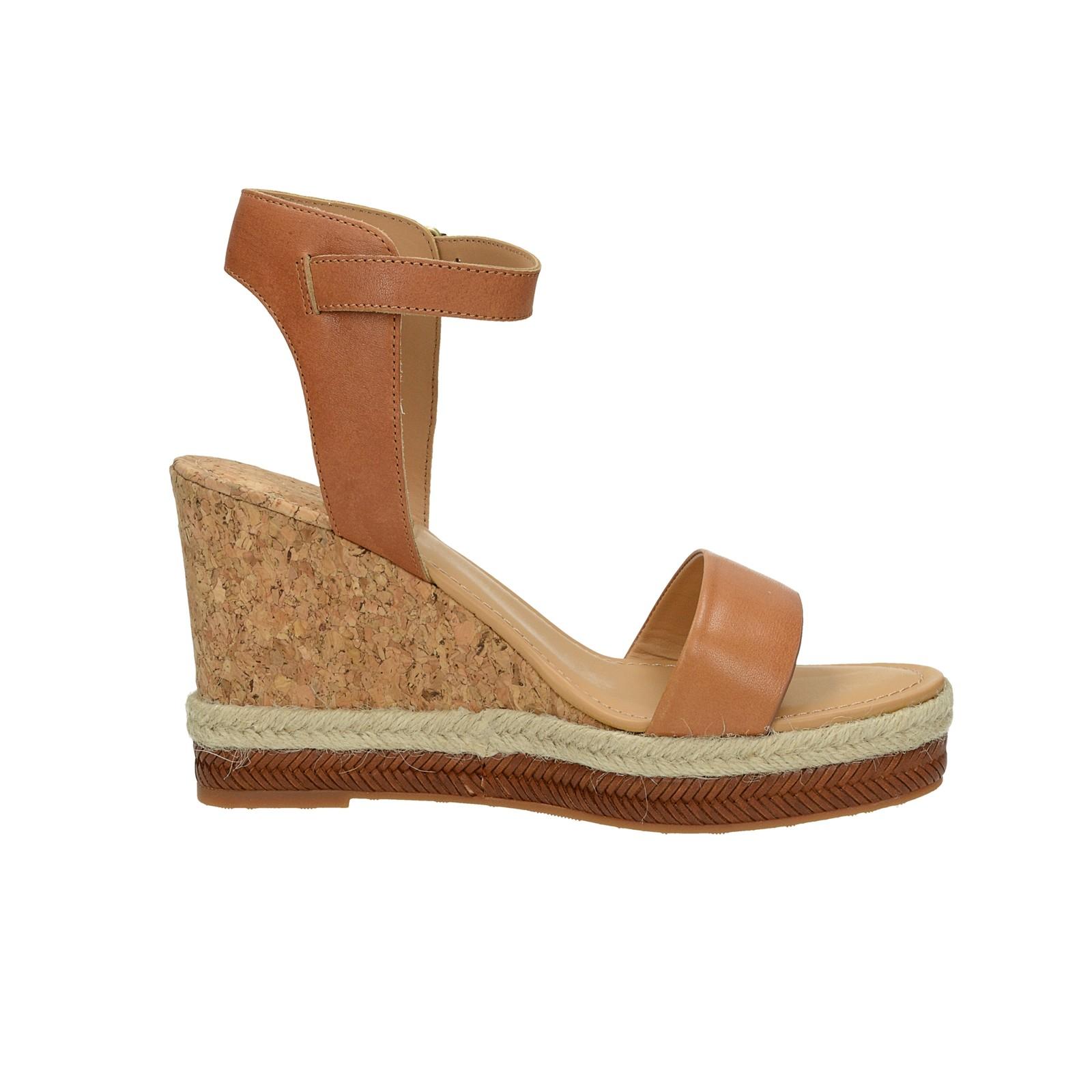 Gant dámske štýlové sandále - hnedé