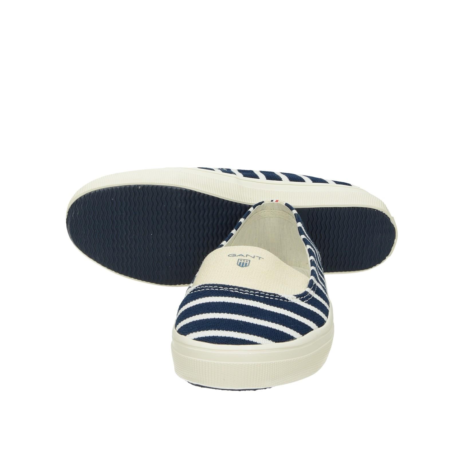 42e870a3659c ... Gant dámske pohodlné balerínky s pásikavým vzorom - modré ...