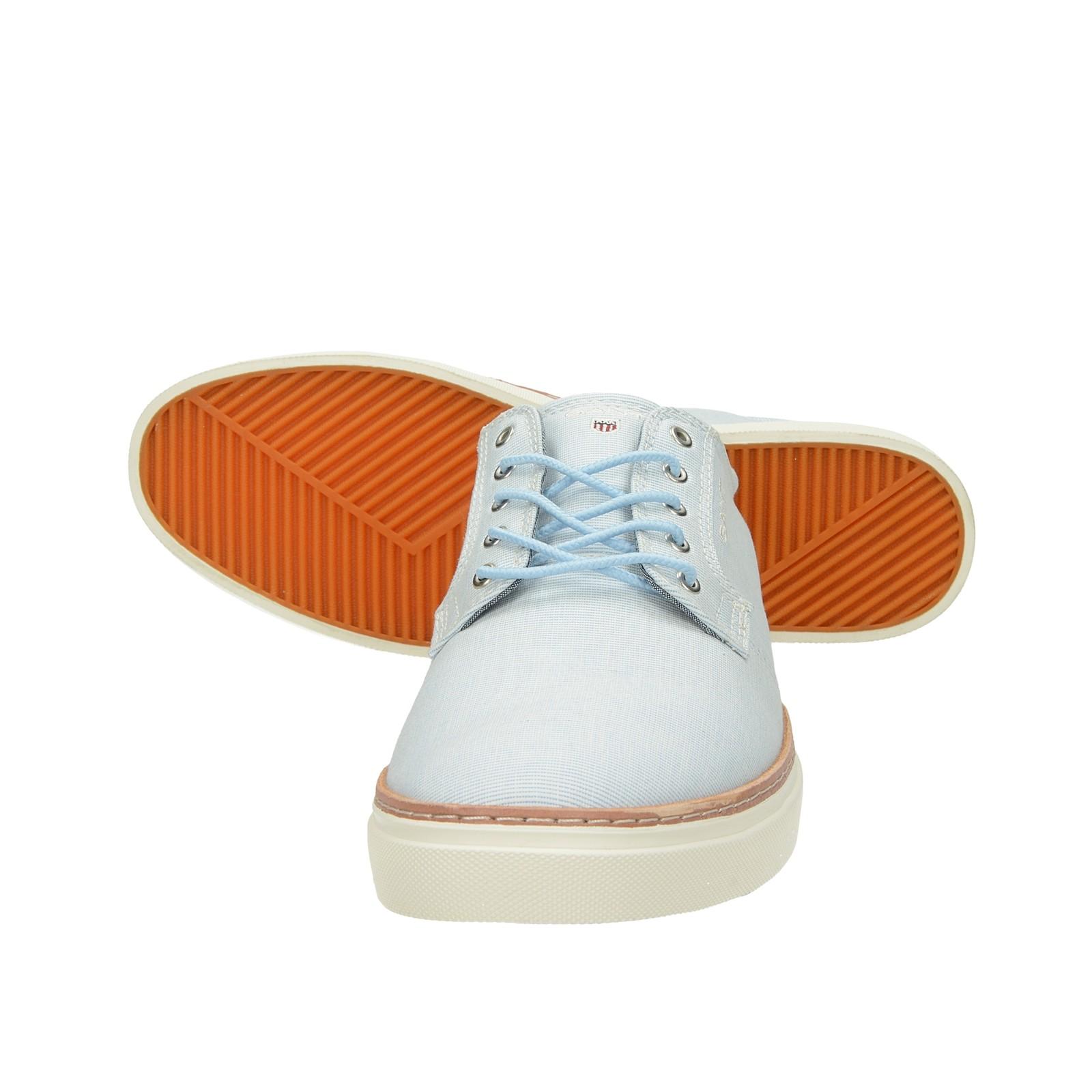Gant pánske štýlové pohodlné tenisky - modré