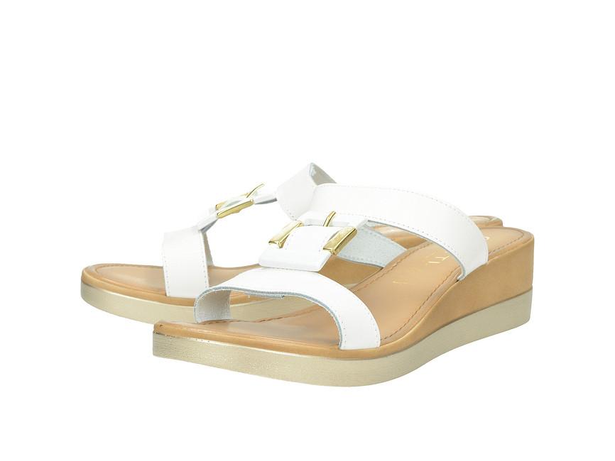 d87469f861 Cerutti dámske luxusné šľapky - biele ...