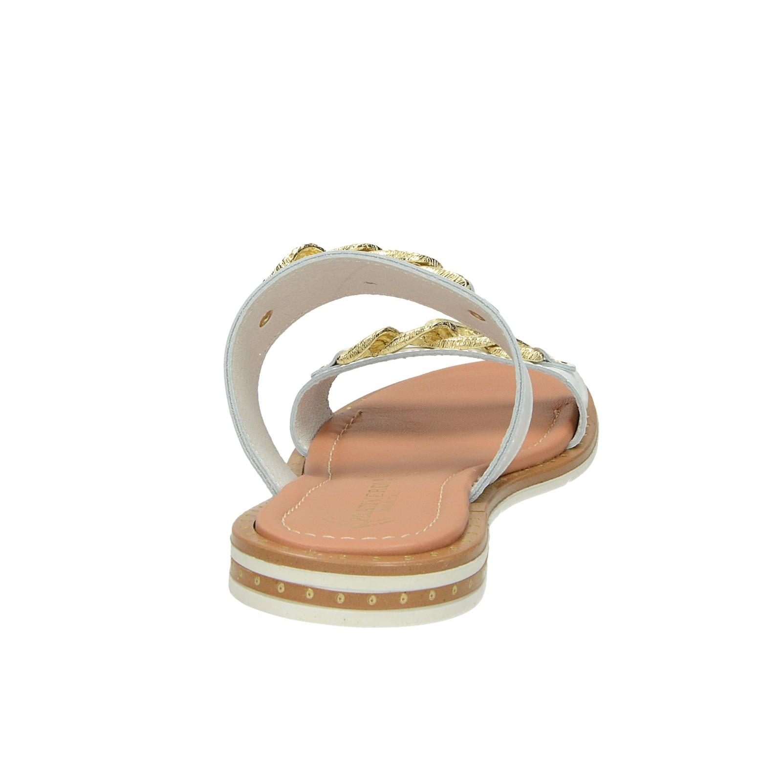 6a10c61417309 Prativerdi dámske elegantné šľapky - biele | 188797-WHT www.robel.sk