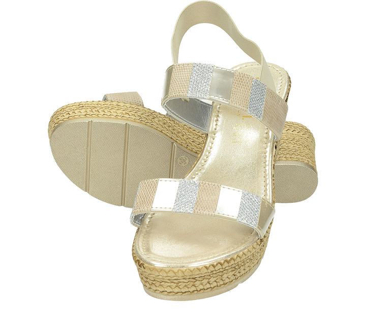 519ce69b4e Cerutti dámske sandále na klinovom podpätku - béžové ...