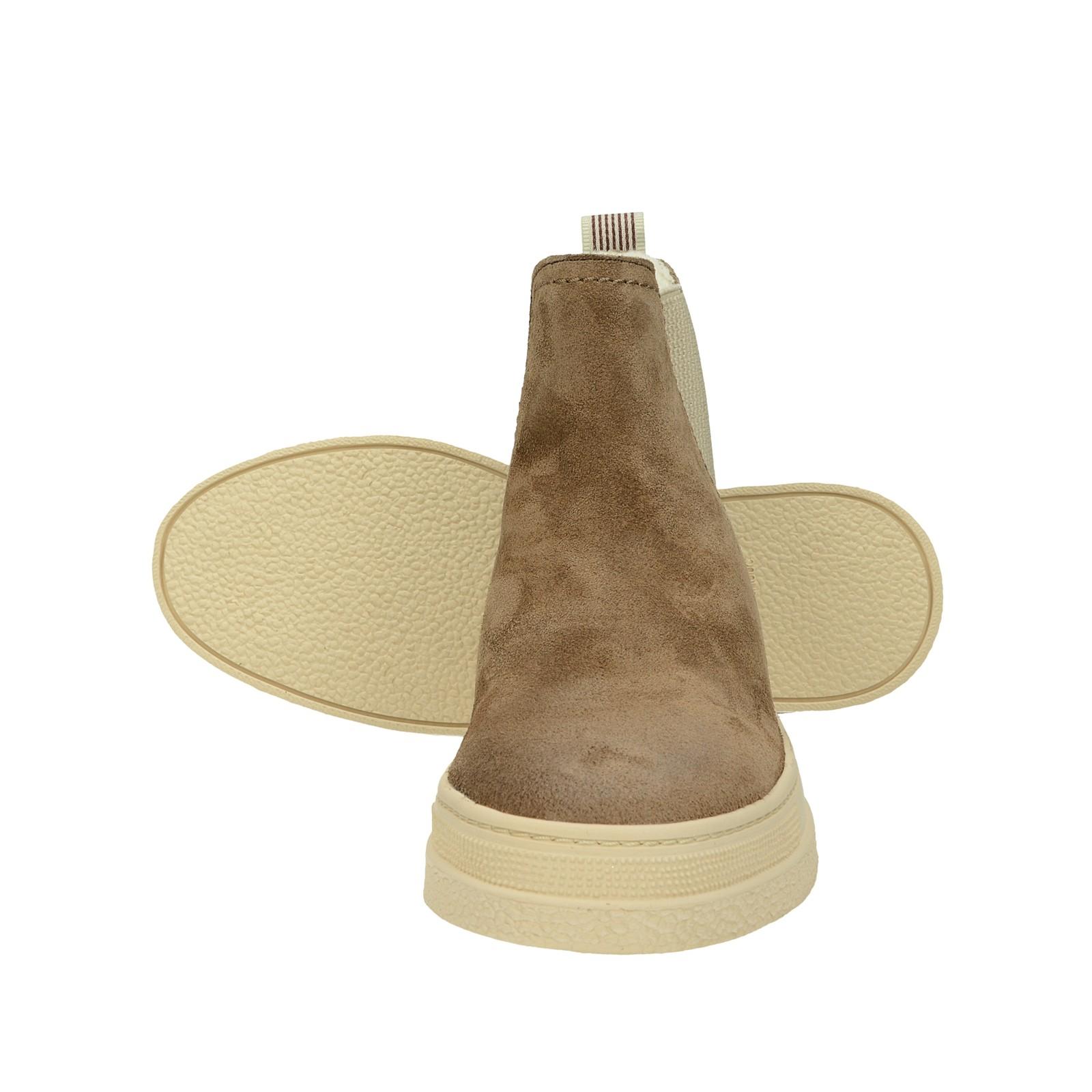 Gant dámske štýlové semišové kotníky - hnedé