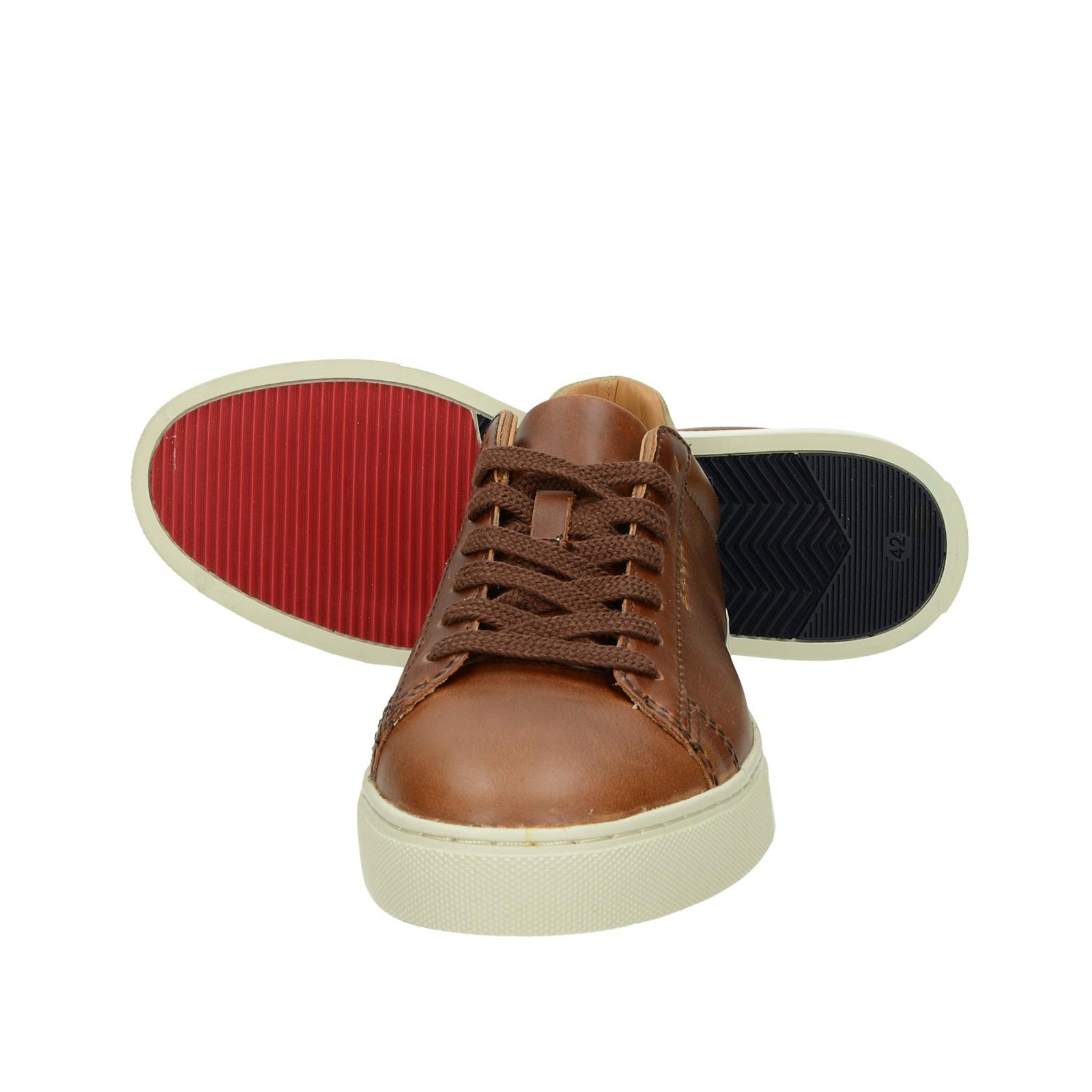 Gant pánske kožené tenisky - hnedé