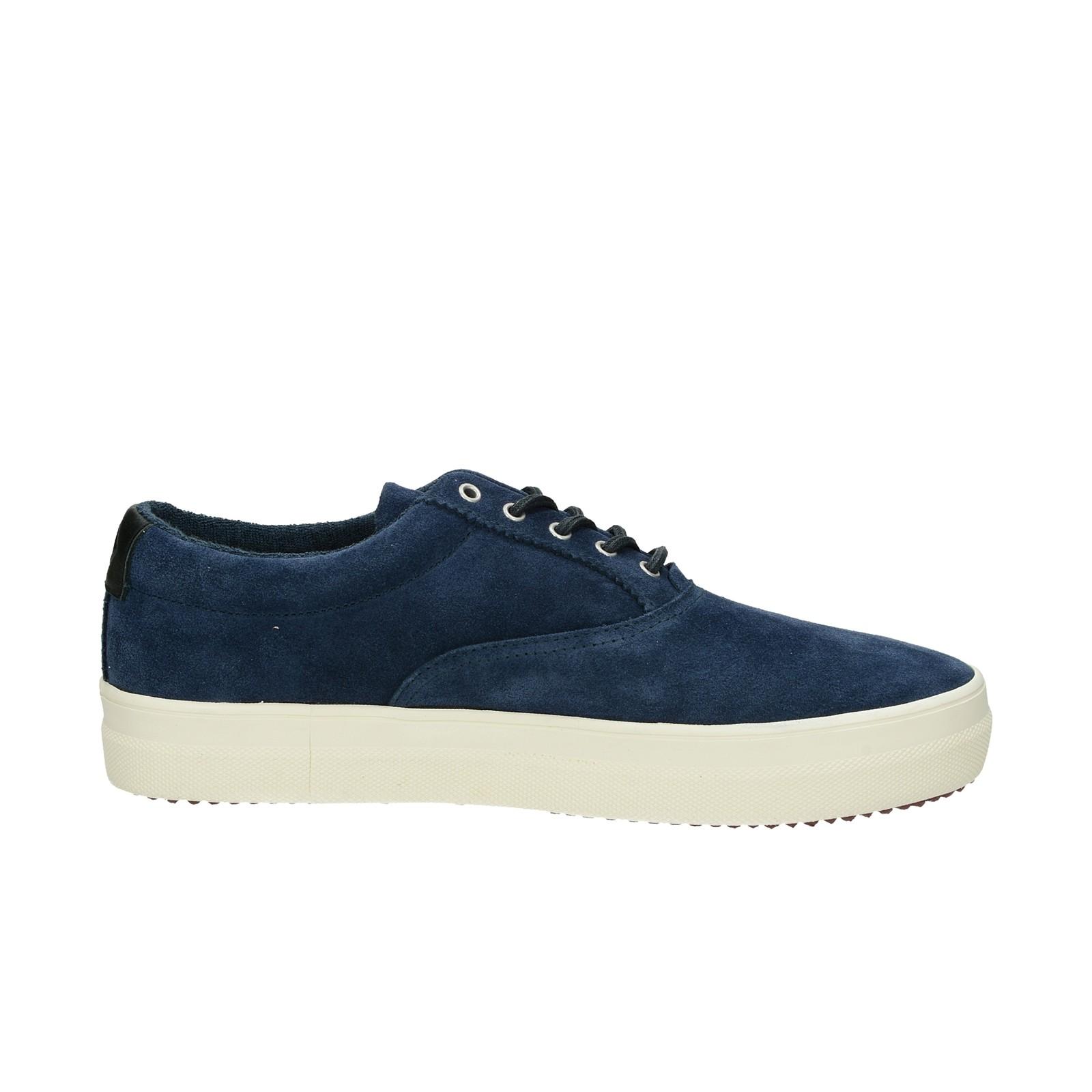 Gant pánske štýlové semišové tenisky - modré