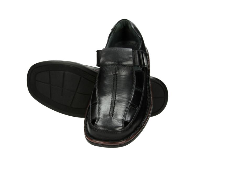 Robel pánske poltopánky - čierne