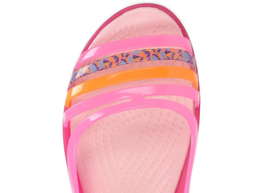 00b92b3436e0 ... Crocs dámske sandále - ružové ...