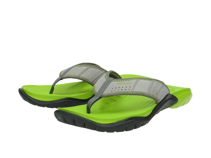 ead460ad9 Crocs pánske šľapky - šedé | 202547-0A1-GRAFGREE www.robel.sk