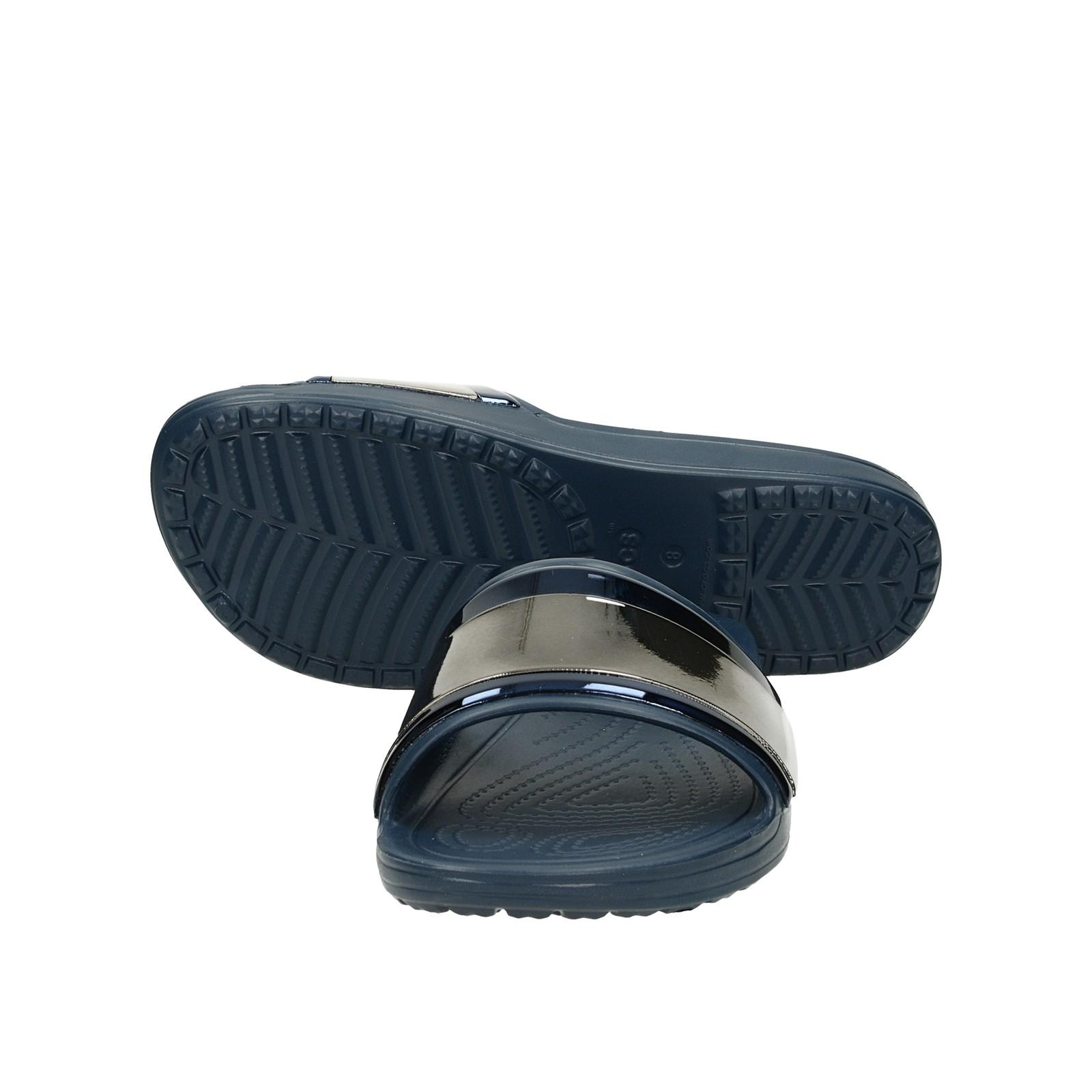 Crocs dámske štýlové šľapky - modré