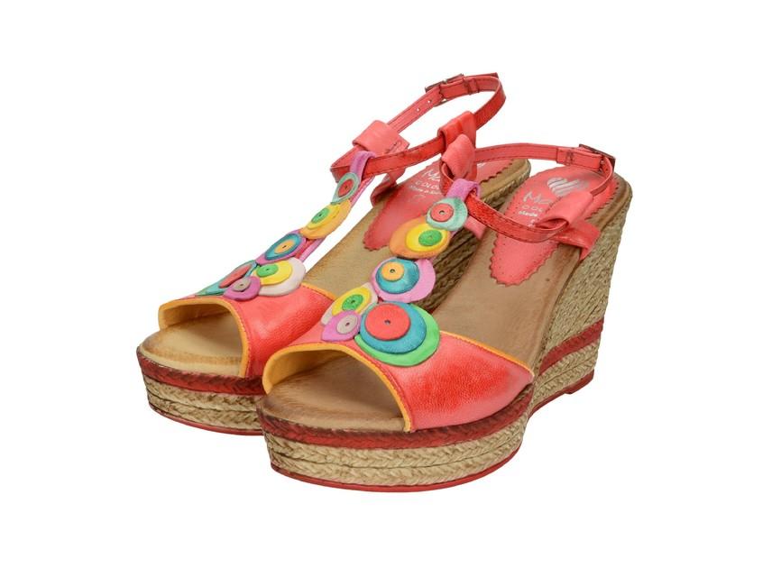 082505d3b20b Marila dámske sandále - farebné ...