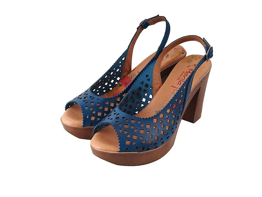 6deea0cb027b Marila dámske sandále - modré ...