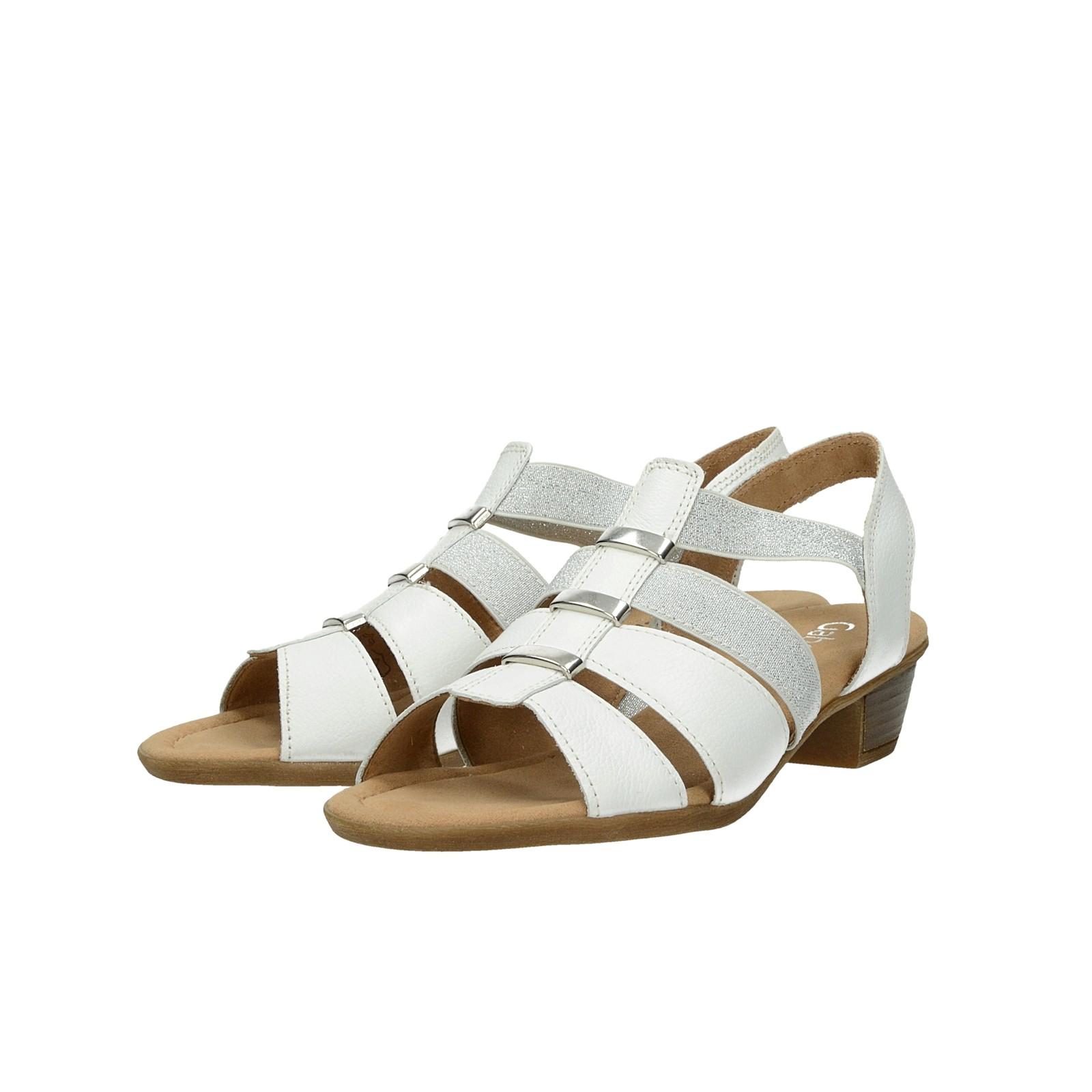Gabor dámske štýlové sandále - biele