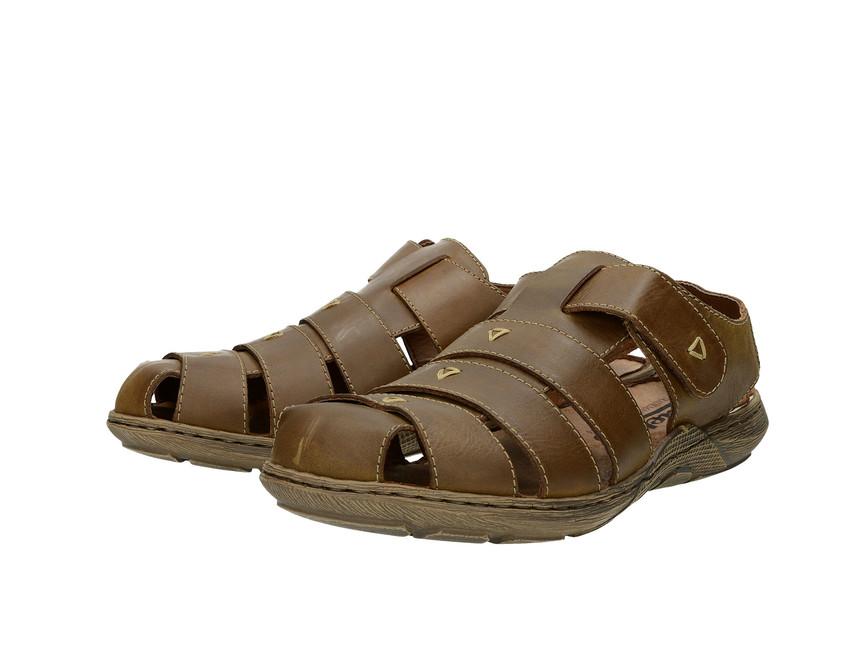b937347f229a Rieker pánske sandále - hnedé ...