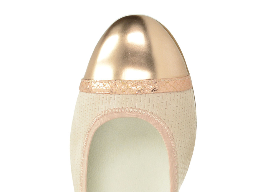 Tamaris dámske balerínky - ružové