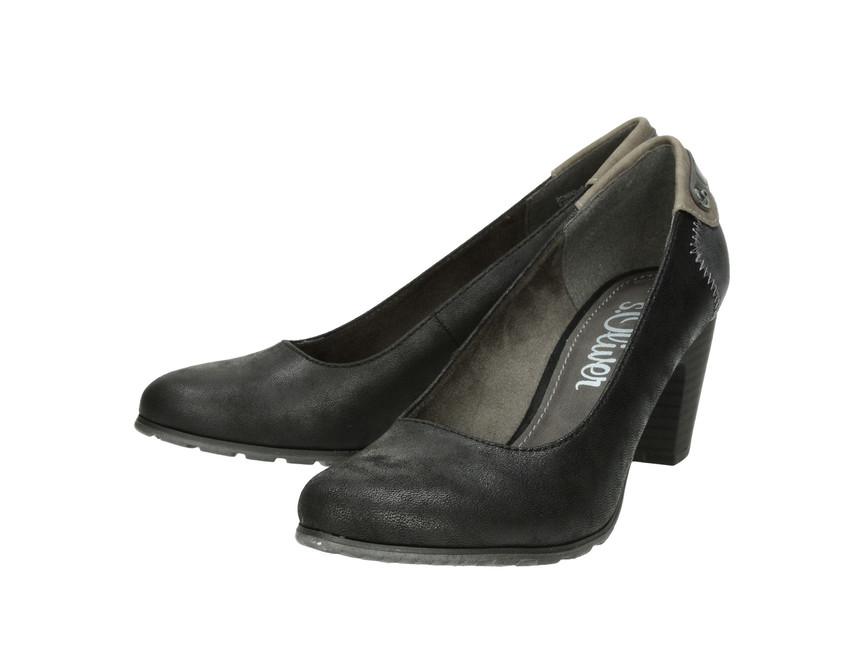 Oliver dámske lodičky - čierne s.Oliver dámske lodičky - čierne ... 63c9d9d13de
