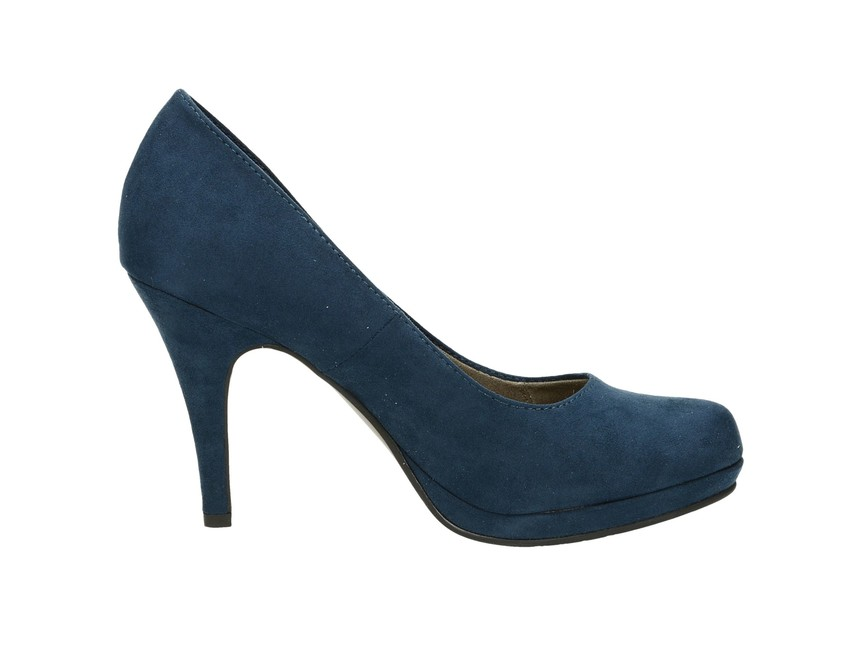 880a4b16dad9 ... Tamaris dámske lodičky - modré ...