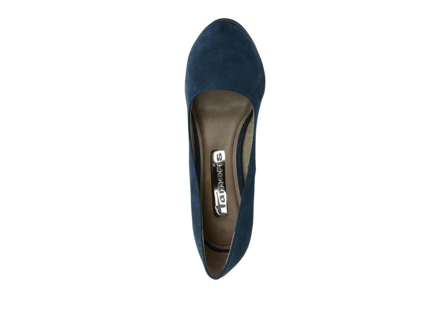 0c72707cd14d Tamaris dámske lodičky - modré ...