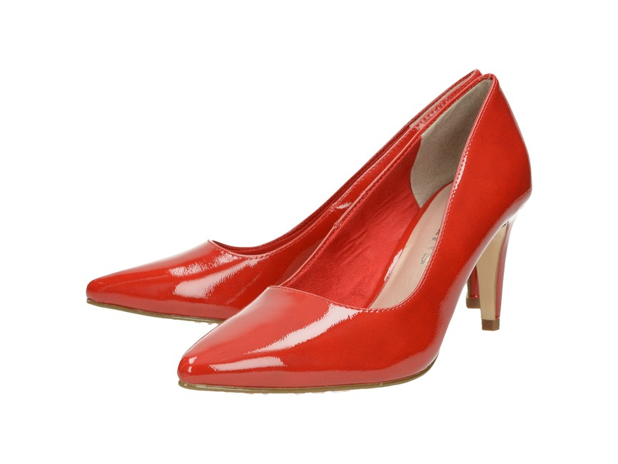 c809a0d376572 Tamaris dámske lodičky - červené | 2244722-CHILI www.robel.sk