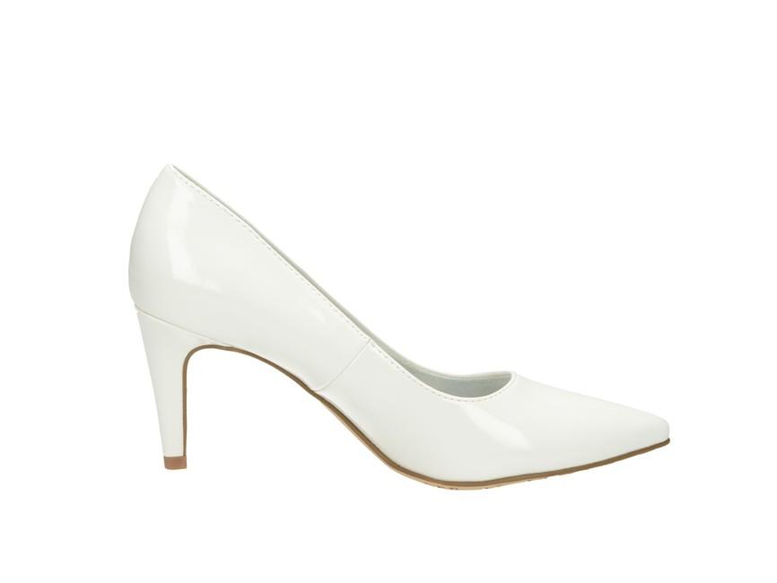 Tamaris dámske lodičky - biele