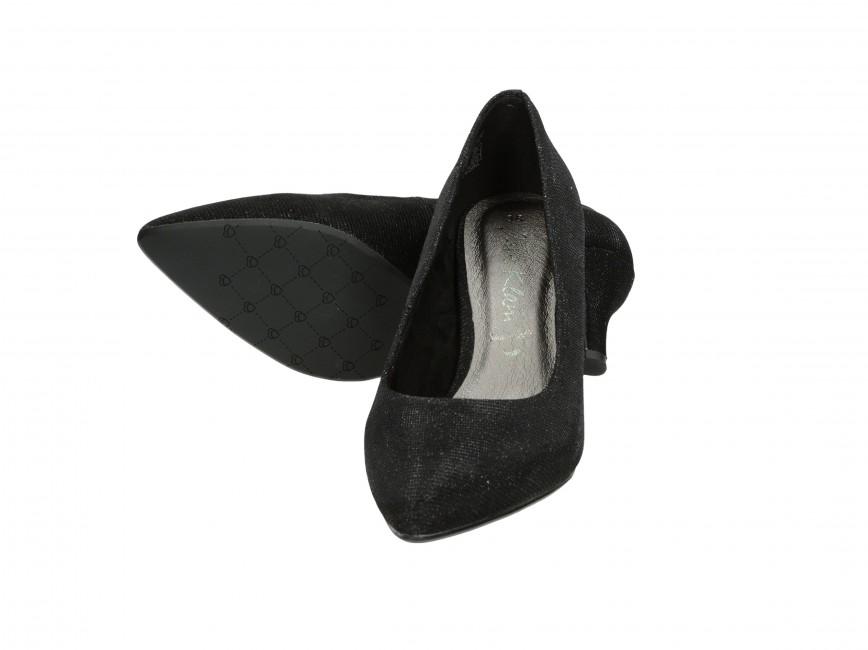 Jane Klain dámske lodičky - čierne