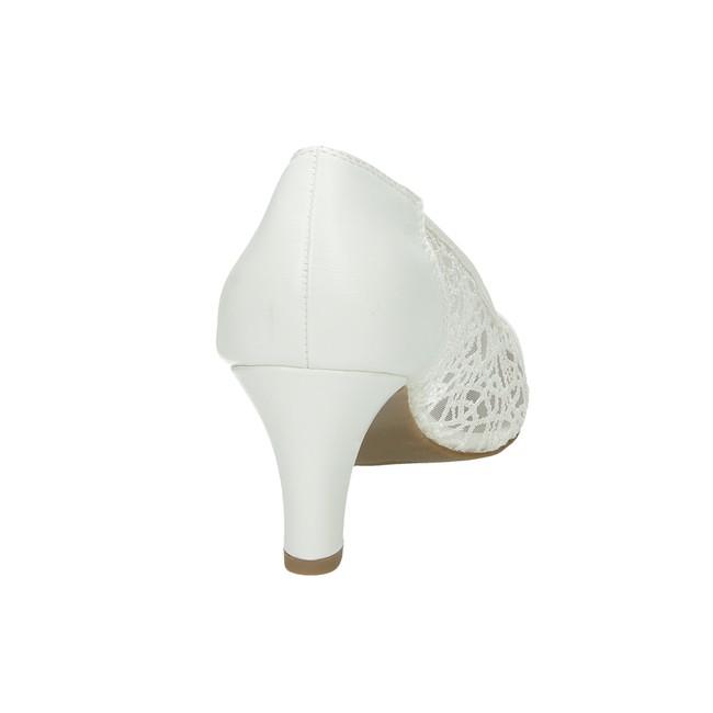 1fbc174ebc42b Jane Klain dámske perforované lodičky - biele | 224992103-WHT www ...