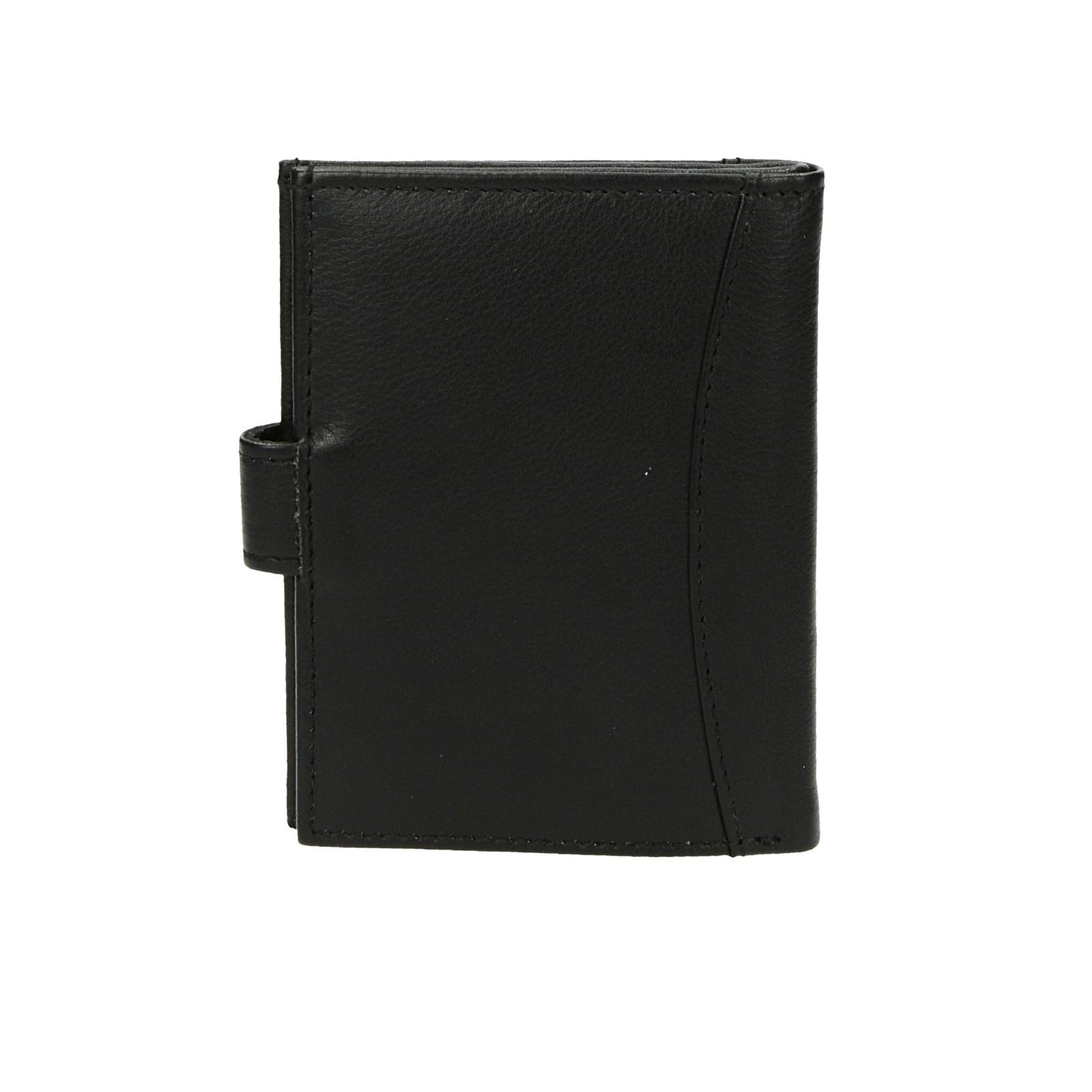 Mercucio pánska kožená dokladovka - čierna