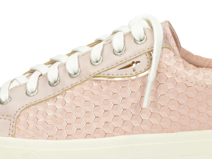 d98e0c31897e7 Tamaris dámske vzorované tenisky - ružové   2360428-ROSESTR www.robel.sk