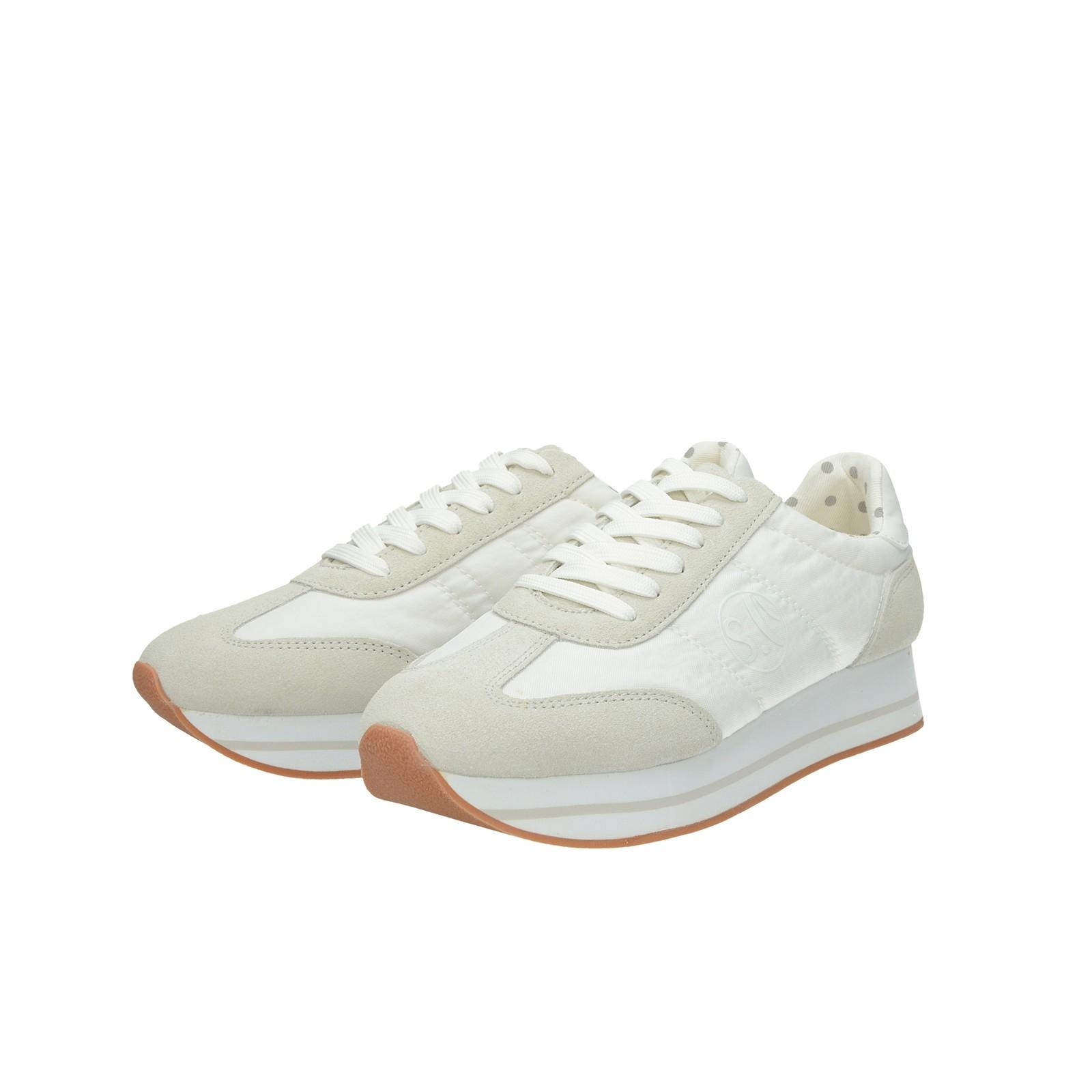 9b99389801642 S.Oliver dámske štýlové tenisky - biele | 2361222-WHT www.robel.sk