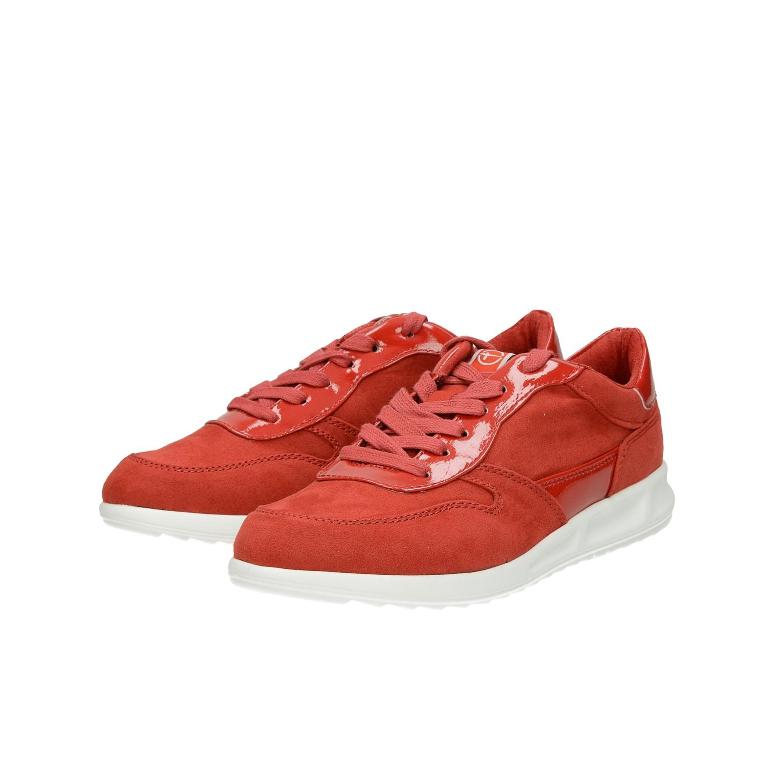 ... Tamaris dámske pohodlné tenisky - červené ... 4b8e0f69700
