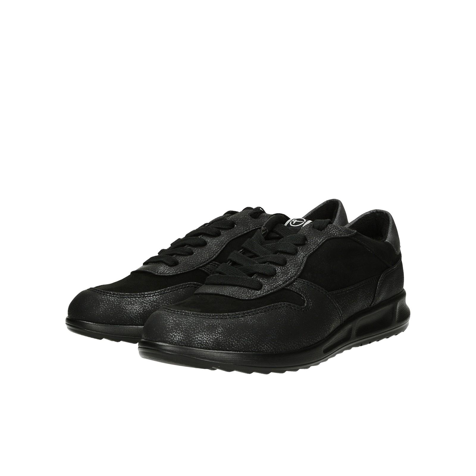 Tamaris dámske štýlové tenisky - čierne