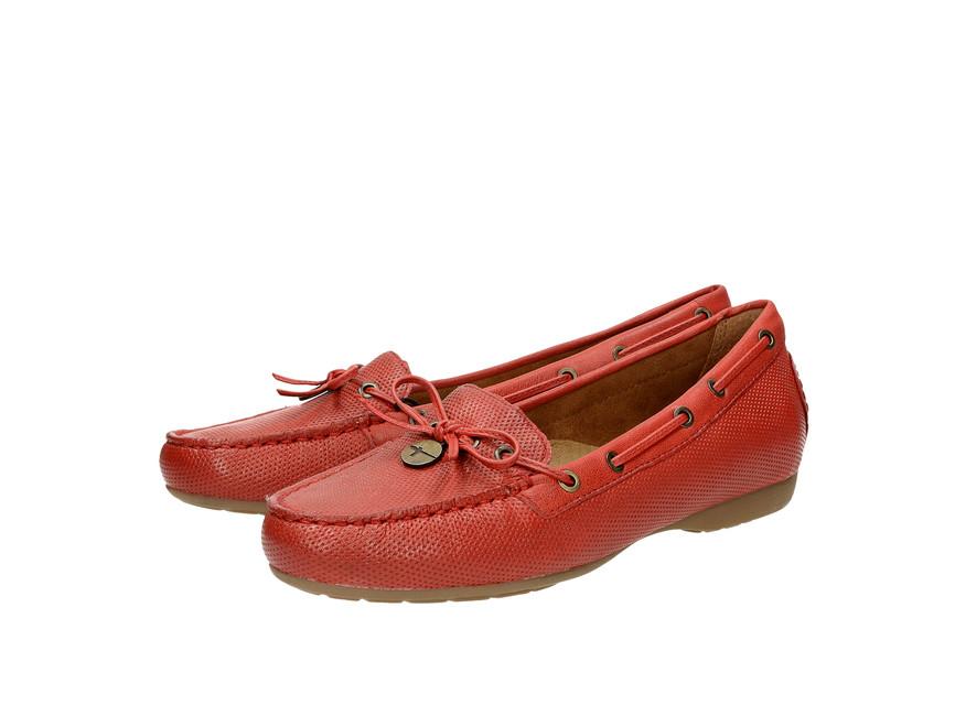 9aeb1065a82d Tamaris dámske mokasíny - červené ...