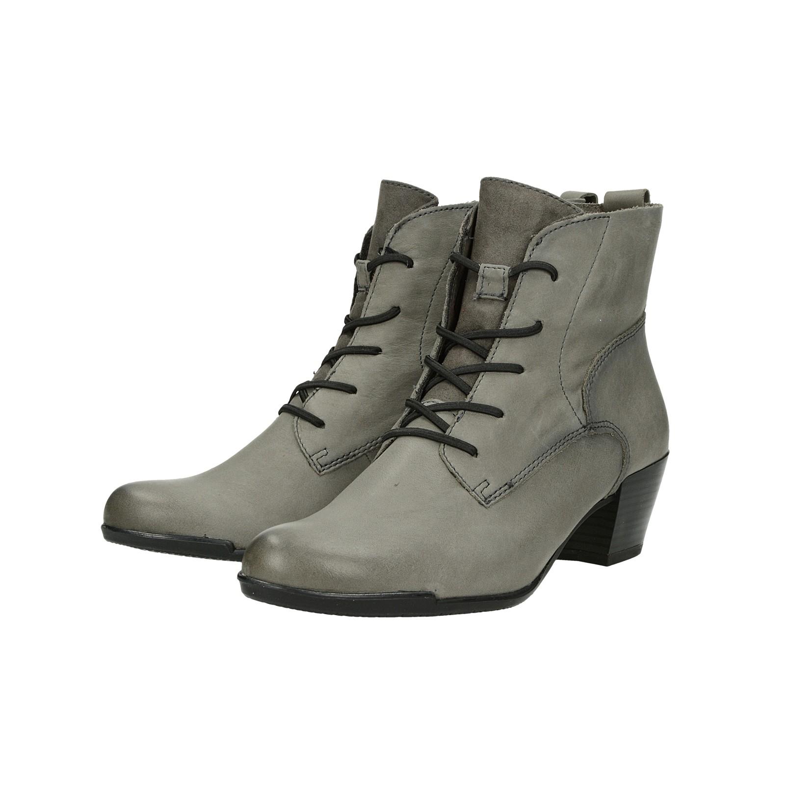 Tamaris dámske štýlové kotníky - šedé