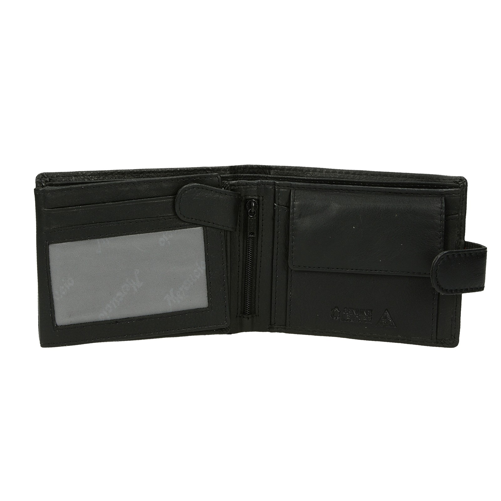 Mercucio pánska kožená peňaženka - čierna