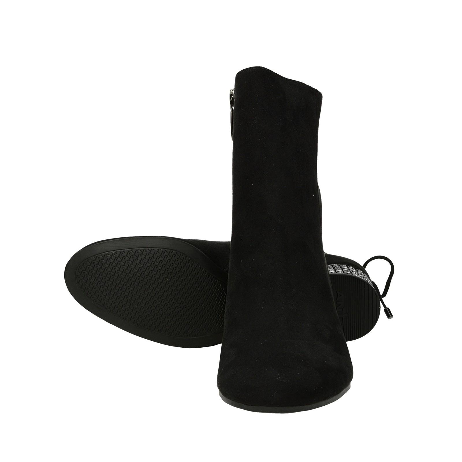 Tamaris dámske štýlové kotníky - čierne