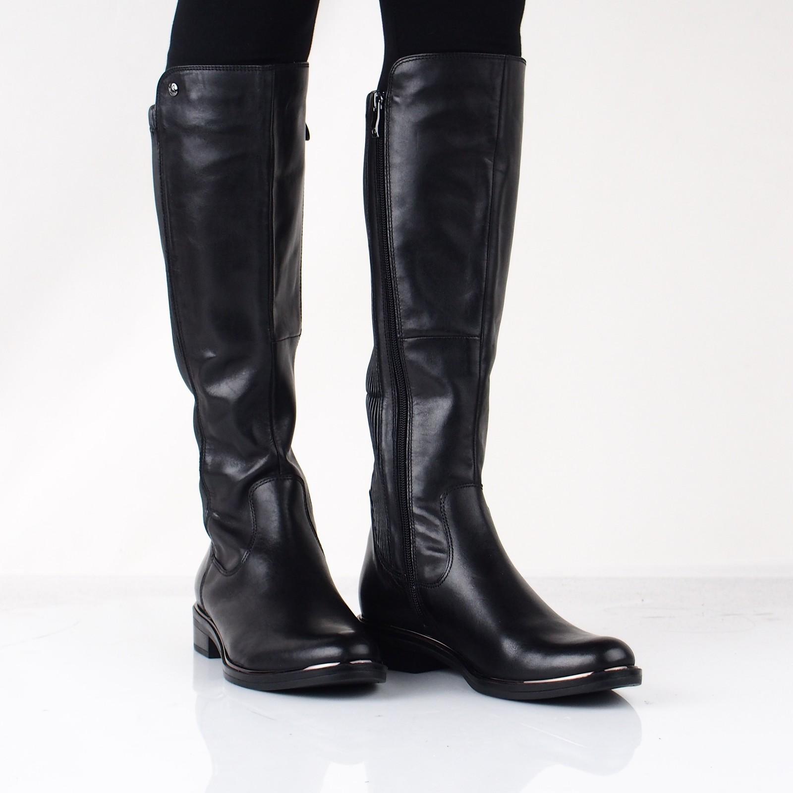 2c56ee0e1f Caprice dámske vysoké čižmy - čierne ...