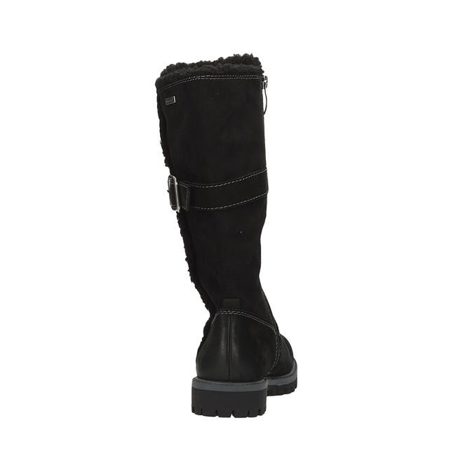 d572da2178 ... Tamaris dámske zimné čižmy - čierne ...