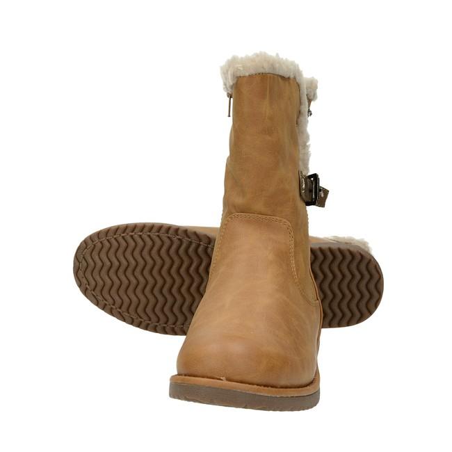 Canadians dámske štýlové čižmy - koňakové ... 014d2350383