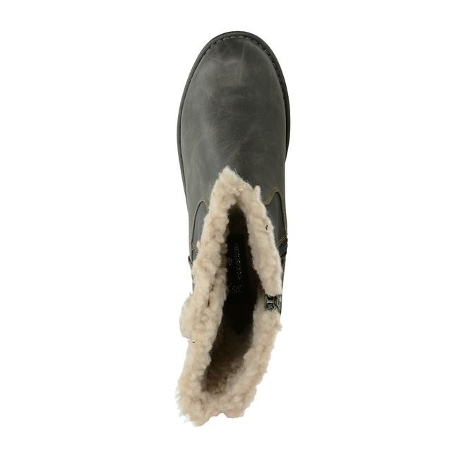 ... Canadians dámske zateplené čižmy - šedé ... c7ae89f56c7