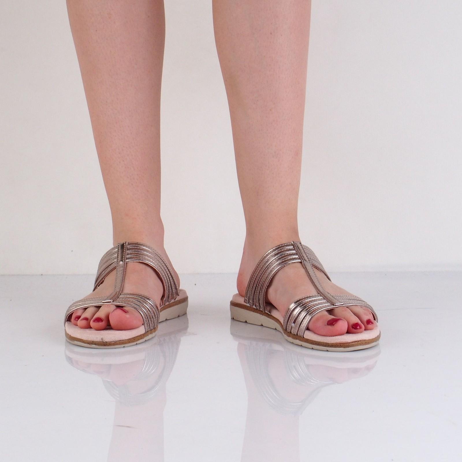 Tamaris dámske štýlové šľapky - ružové