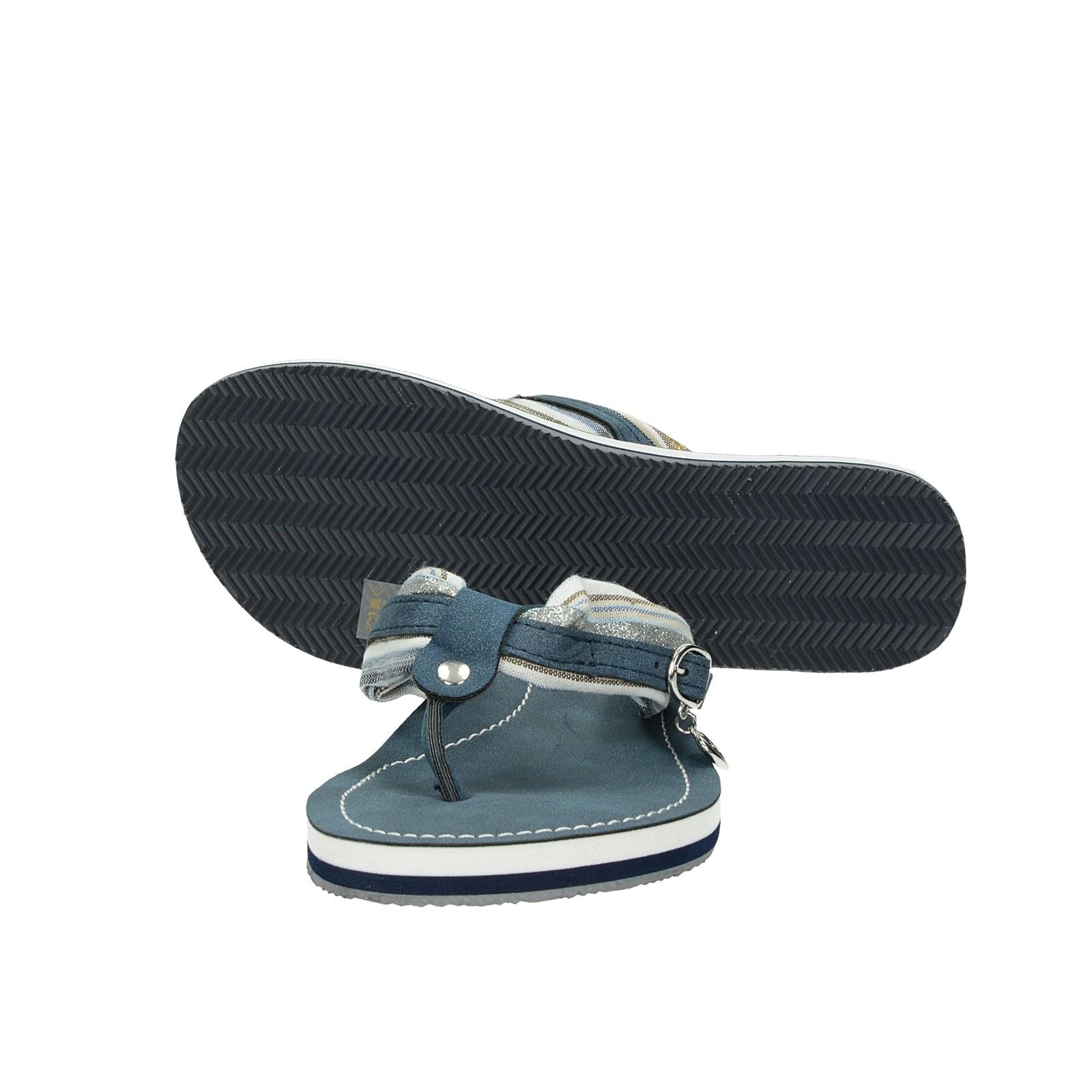 Tamaris dámske štýlové šľapky - modré