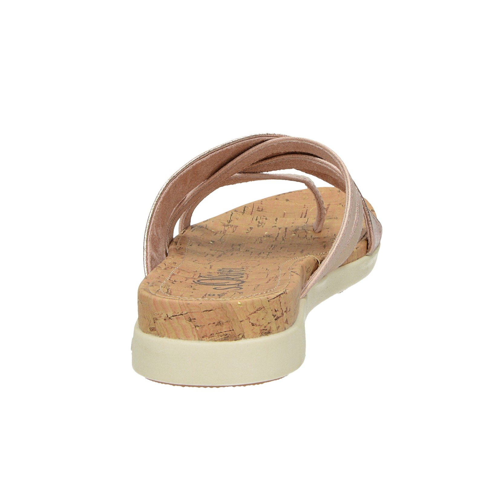 s.Oliver dámske štýlové sandále - ružové