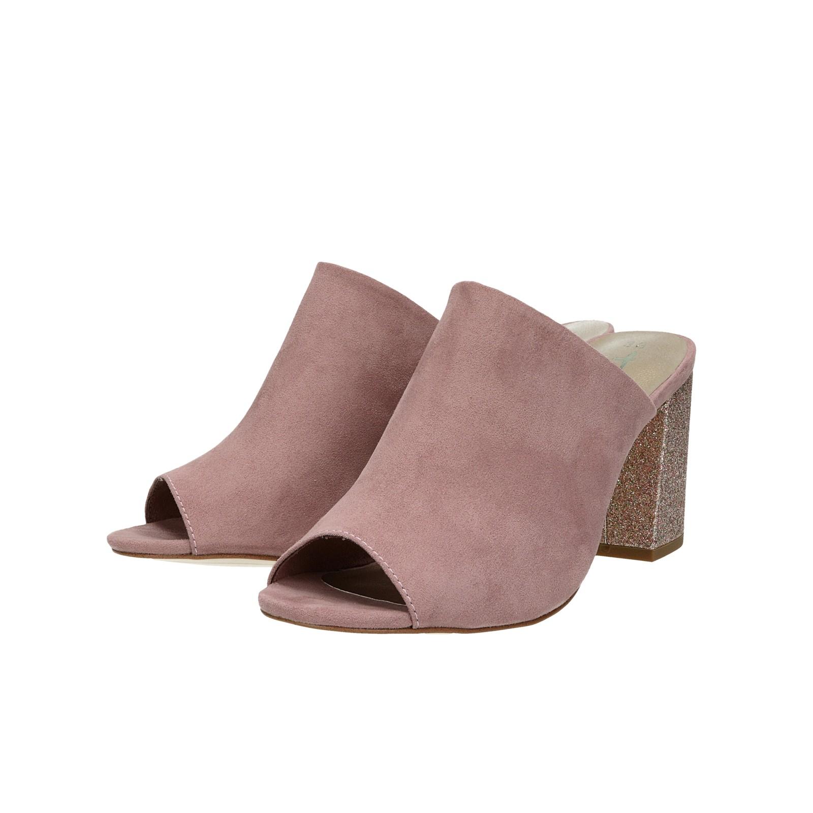 99625f1aa9 Tamaris dámske štýlové šľapky na vysokom podpätku - ružové ...